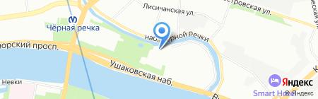 Мода в деталях на карте Санкт-Петербурга