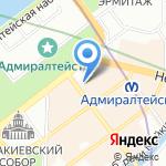 Генеральное консульство Румынии на карте Санкт-Петербурга