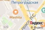 Схема проезда до компании Адвокатская консультация №49 в Санкт-Петербурге