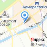 Санкт-Петербургский союз художников на карте Санкт-Петербурга