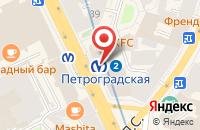 Схема проезда до компании Декорстрой в Санкт-Петербурге