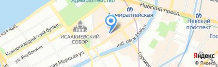 Via Dell`Oliva на карте Санкт-Петербурга