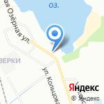 Парная на дровах на карте Санкт-Петербурга