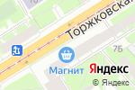 Схема проезда до компании Klubokspb.ru в Санкт-Петербурге