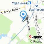 Дети на паркете на карте Санкт-Петербурга