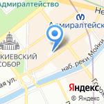 Комитет по молодежной политике и взаимодействию с общественными организациями на карте Санкт-Петербурга