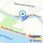 Стеклосфера на карте Санкт-Петербурга