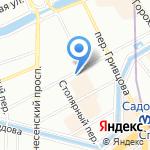 ОДОНТ на карте Санкт-Петербурга