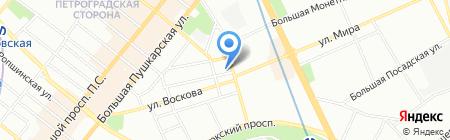 НАВИ на карте Санкт-Петербурга
