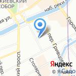Отдел аттестации и повышения квалификации педагогических кадров на карте Санкт-Петербурга