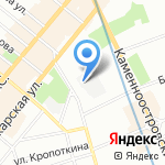 НПФ Балтсинтез на карте Санкт-Петербурга