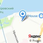 Институт экспериментальной медицины на карте Санкт-Петербурга