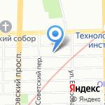 СКАД на карте Санкт-Петербурга