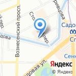 Нева-Пресс на карте Санкт-Петербурга