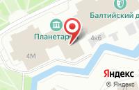 Схема проезда до компании Полисервис в Санкт-Петербурге