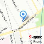 Средняя общеобразовательная школа №102 на карте Санкт-Петербурга