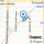 АЗС на карте Санкт-Петербурга