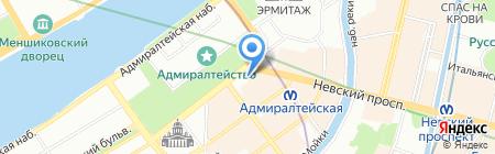 Alma Mater на карте Санкт-Петербурга