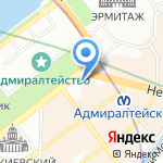 Арт Спейс на карте Санкт-Петербурга