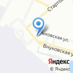 Пулково Скай на карте Санкт-Петербурга