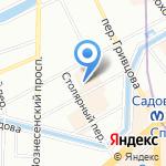 Петербургский государственный университет путей сообщения Императора Александра I на карте Санкт-Петербурга