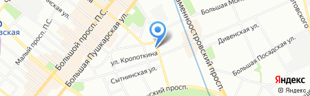 Промспецстрой на карте Санкт-Петербурга