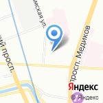 Esperanza на карте Санкт-Петербурга