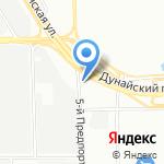 Аргон 24 на карте Санкт-Петербурга