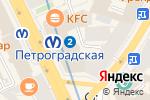 Схема проезда до компании Прометей в Санкт-Петербурге