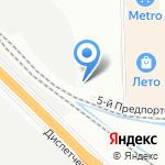 Модуль на карте Санкт-Петербурга