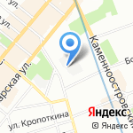 Полярис на карте Санкт-Петербурга