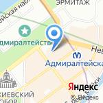 Владелец на карте Санкт-Петербурга