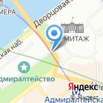 КомТур на карте Санкт-Петербурга