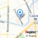 НОРД-ВЕСТ НОРМАТИВ на карте Санкт-Петербурга
