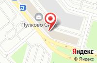 Схема проезда до компании Воздушные Ворота Северной Столицы в Санкт-Петербурге