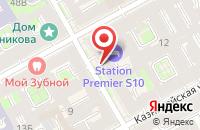 Схема проезда до компании Сим в Санкт-Петербурге
