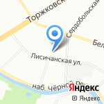 SuperLED на карте Санкт-Петербурга
