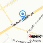 Led Industry на карте Санкт-Петербурга