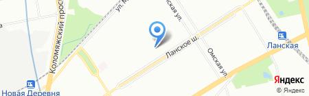 Валенсия на карте Санкт-Петербурга