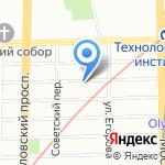 New York Coffee на карте Санкт-Петербурга