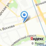 КОФЕ*КОТ на карте Санкт-Петербурга