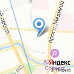 Детский сад №30 на карте Санкт-Петербурга