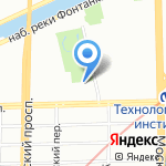 Собор Успения Пресвятой Девы Марии на карте Санкт-Петербурга