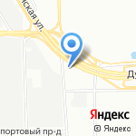 Эвесма на карте Санкт-Петербурга