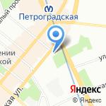 КибернетикЪ на карте Санкт-Петербурга
