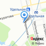 Центр пространственных исследований на карте Санкт-Петербурга