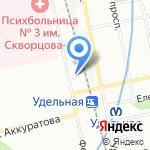 Lawine на карте Санкт-Петербурга