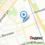 Банк Союз на карте Санкт-Петербурга