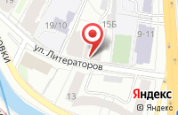 Схема проезда до компании Востокхимволокно в Санкт-Петербурге