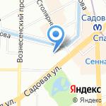 МигКредит на карте Санкт-Петербурга